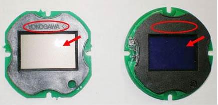 EJA的LCD电路板辨认