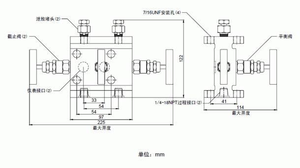 罗斯蒙特1151变送器传统型三阀组-罗斯蒙特1151变送器